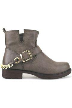 Boots Francescomilano bottines marron cuir AJ227(115399886)
