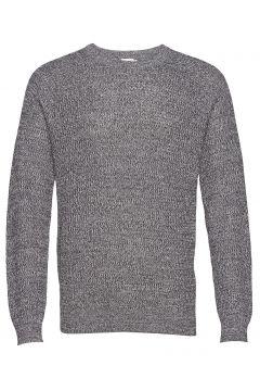 M. Sergio Sweater Strickpullover Rundhals Blau FILIPPA K(114154554)