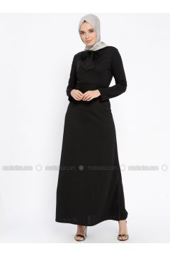 Black - Polo neck - Unlined - Dresses - PINK APPLE(110313840)