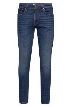 Slhslim-Leon 6212 Mblue Su-St Jns J Noos Slim Jeans Blau SELECTED HOMME(109011158)