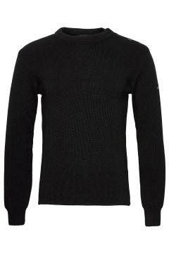 Mariner Sweater Strickpullover Rundhals Schwarz ARMOR LUX(120403586)