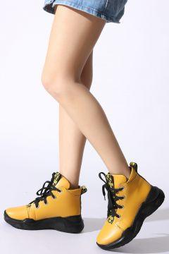 ROVIGO Sarı Kadın Bot(122218762)