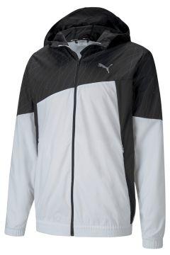Puma 51937701 Run Graphic Hooded Erkek Zip Ceket(126182496)