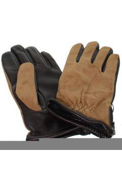 Gants Glove Story Gants en cuir agneau ref_glo42579 Marron(88463429)