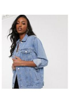 Missguided Tall - Giacca di jeans oversize blu(120389551)