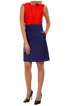 Women's short mini dress sleeveless(122988135)