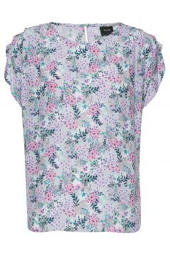 Jax Tee T-Shirt Top Bunt/gemustert RAVN(116666888)