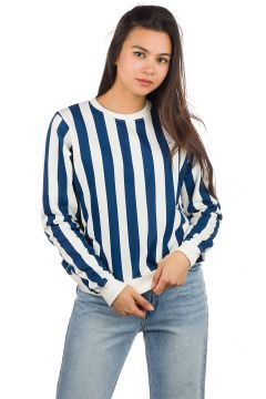 Dedicated Ystad Big Stripes Sweater wit(85191974)