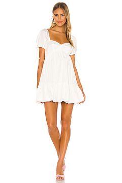 Мини платье sicily - Amanda Uprichard(118967051)