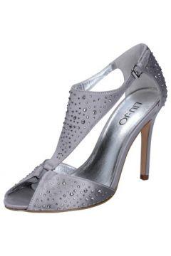 Sandales Liu Jo sandales argent satin strass BZ123(115392496)