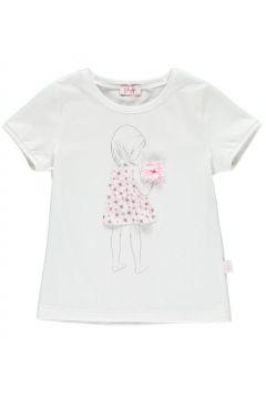 T-Shirt mit Bommel(113612061)