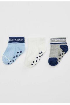 DeFacto Erkek Bebek 3\'lü Çorap(108988503)