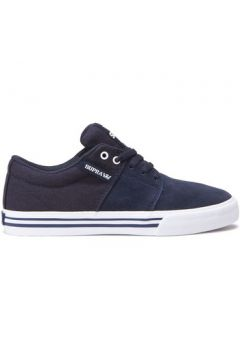 Chaussures enfant Supra Chaussures STACKS VULC II navy white enfant(115433219)