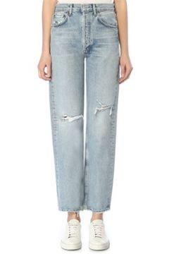 Agolde Kadın 90s Loose Fit Organik Pamuklu Jean Pantolon Mavi 27 US(109198971)