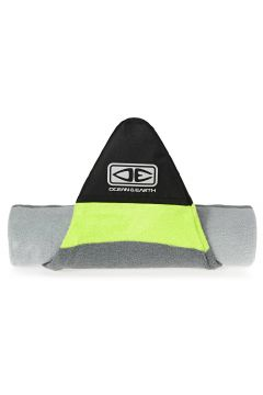 Ocean and Earth Shortboard Stretch Surfboard Bag - Silver Lime(100259093)