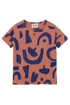 T-Shirt mit Knöpfe aus Bio-Baumwolle(117293061)