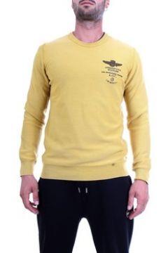 Pull Aeronautica Militare 192MA1158L282 Pull homme jaune(128000645)