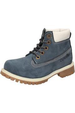 Boots enfant Enrico Coveri COVERI bottines bleu cuir suédé AD830(88482268)