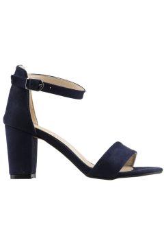 Ayakland Lacivert Kadın Topuklu Ayakkabı(120182492)