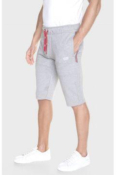 883 Police Exeter Marl Grey Mens Jogger Shorts(116950332)