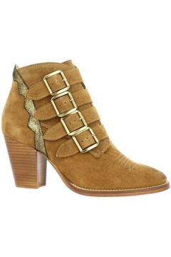 Boots Ambiance Boots cuir velours(101791340)