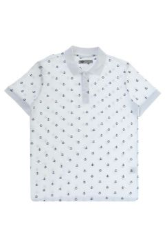 Lee Cooper Pool Beyaz Polo Yaka T-Shirt(116992305)