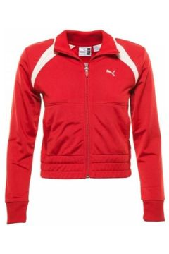 Sweat-shirt enfant Puma Veste zippée Rouge(115460424)