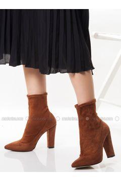 Tan - Boot - Boots - Ayakkabı Havuzu(110318869)