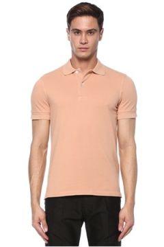 Tom Ford Erkek Pembe Polo Yaka T-shirt 48 IT(117578276)