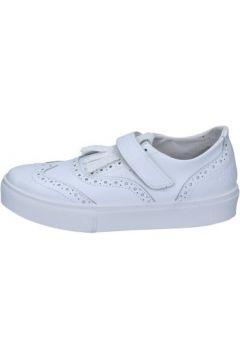 Chaussures 2 Stars sneakers blanc cuir glitter BZ521(115394003)