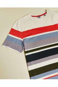 Striped Cotton T-shirt(116485700)