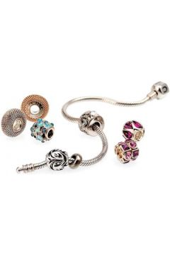 Bracelets Chamilia Bracelet en Cuir Blanc Femme(88514445)