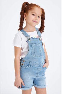 DeFacto Kız Çocuk Regular Fit Jean Tulum(119060525)