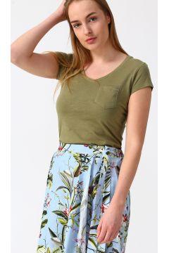 Fashion Friends V Yaka Haki T-Shirt(118428134)
