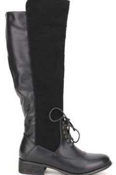 Bottes Cendriyon Bottes Noir Chaussures Femme(115425019)
