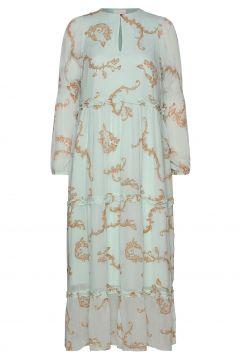 Omega Maxi Dress Maxikleid Partykleid Blau NOTES DU NORD(114164259)