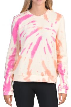 Sweat Femme Hurley Allover Tie Dye Crew - Multi Color(122996118)