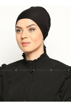 Cotton Bonnet - Black - Miray(110343573)
