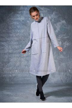 Polo neck - Gray - Sweat-shirt - Eda Atalay(110331480)