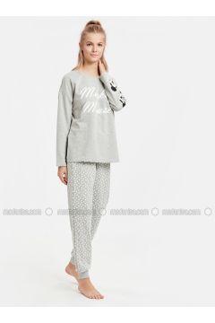 Gray - Pyjama - LC WAIKIKI(110318126)