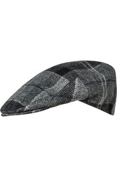 Barbour Cap Tweed black-grey tartan MHA0295BK11(123081614)