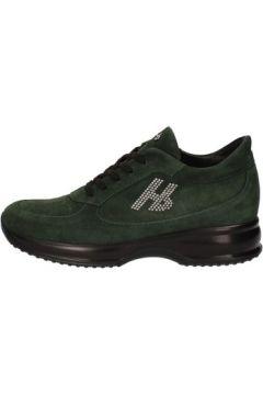 Chaussures Hornet Botticelli BOTTICELLI sneakers vert daim AE309(88516202)