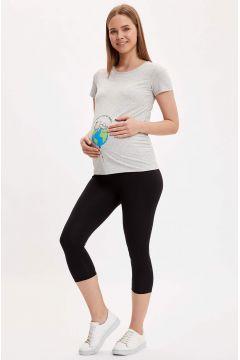 DeFacto Kadın Skinny Fit Basic Hamile Taytı(119064460)