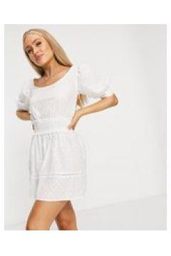 Fashion Union - Ramona - Vestito da mare bianco(123404355)
