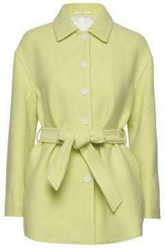 Lima Coat Wollmantel Mantel Gelb FILIPPA K(114154521)