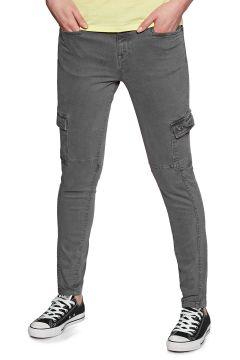 Superdry Daisey Skinny Damen Cargo Pants - Iron Grey(100263977)