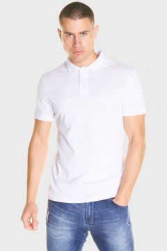 883 Police Mens Mercerised Pique Jersey Polo Shirt(116950339)
