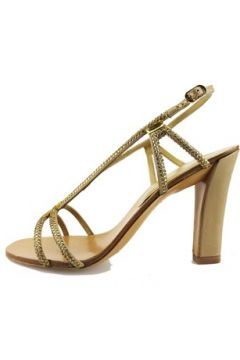 Sandales Lola Cruz sandales or textile cuir strass AG309(88512337)