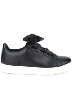 Chaussures Cendriyon Baskets Noir Chaussures Femme(115425183)