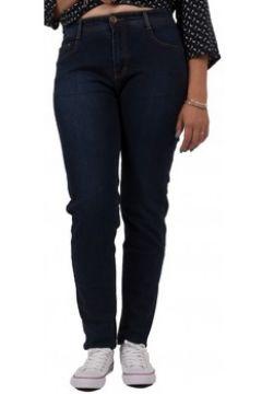 Jeans Primtex Jean slim grande taille bleu brut taille haute(88678725)